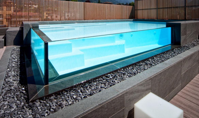 Crystal, Le piscine in Cristallo a Padova